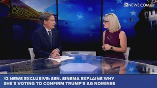 After Sessions firing, does Sinema believe Trump AG nominee will stand up to president?
