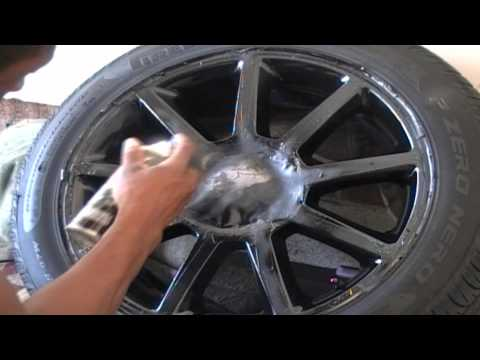 #2 Video: How to Custom paint your Car or truck Rims.  2008 Cadillac sts