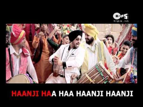 Pee Pa Pee Pa Ho Gaya With Lyrics - Diljit Dosanjh - Tere Naal Love Ho Gaya - Sing Along video