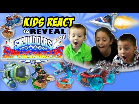 Kids react to skylanders 4 new characters announcement update frito