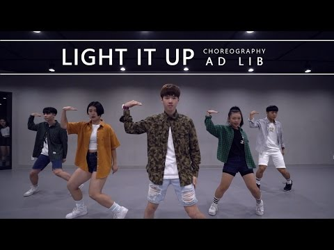 Light It Up - Major Lazer / Choreography . AD LIB