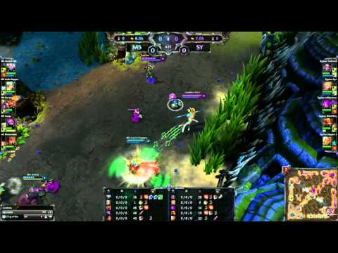 IEM Kiev League of Legends - Moscow Five vs. Team Sypher