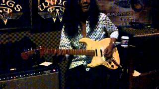 Konsert G4 jamming with Man Keedal