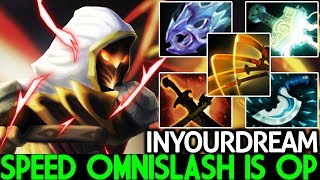 Inyourdream [Juggernaut] Speed Omnislash Build is OP Meta 7.21 Dota 2
