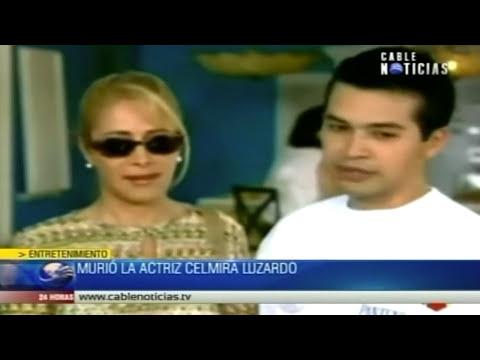Murió la actriz colombiana Celmira Luzardo
