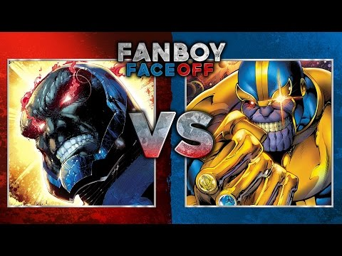 Darkseid vs Thanos: Fanboy Faceoff