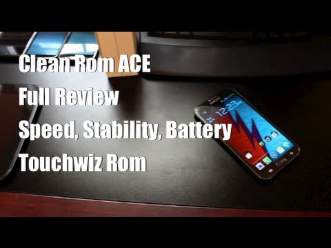 Galaxy Note II Clean Rom ACE 4.1.2 TW [FULL REVIEW] and Install