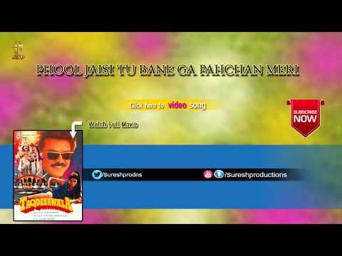 Phool Jaisi Tu Bane Ga Pahchan Meri  Taqdeerwala  Jukebox   Venkatesh,Ravinatandan