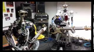[Great music playing robot] Video