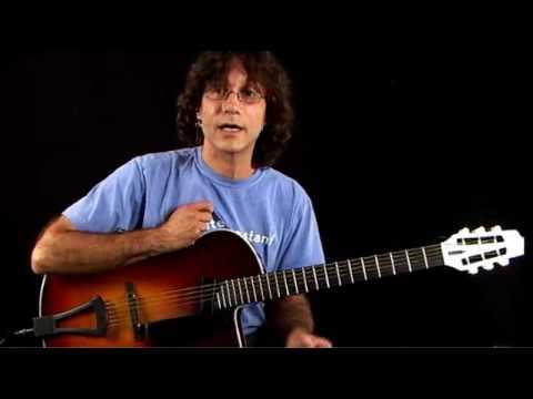 Jazz Guitar Lessons - Inversion Excursion - C Major Chord Inversions 1
