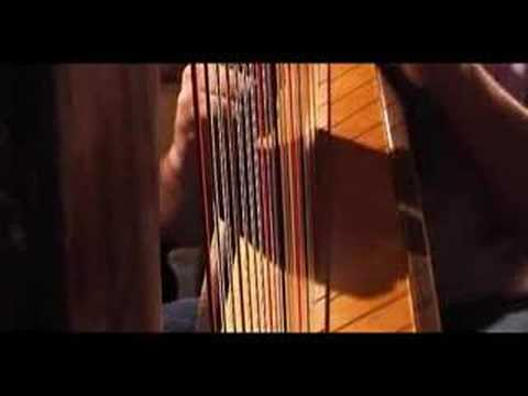 Carolan's Dream - played on celtic harp Video