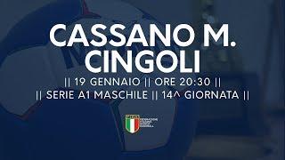 Serie A1M [14^]: Cassano Magnago - Cingoli 26-22