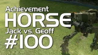 Halo 4 - Achievement HORSE #100 (Jack vs. Geoff)