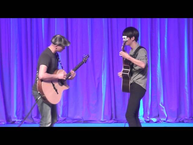 Superstition - Petteri Sariola & Sungha Jung (live)