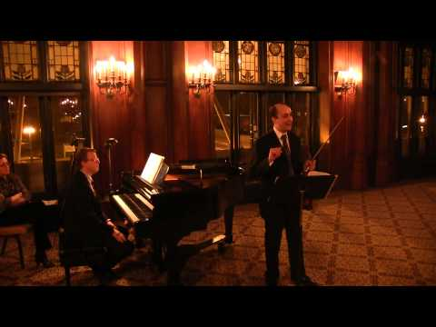 David Yonan and Steven Greene, Levinson Memory Tango (end); Gershwin- Porgy and Bess Fantasy