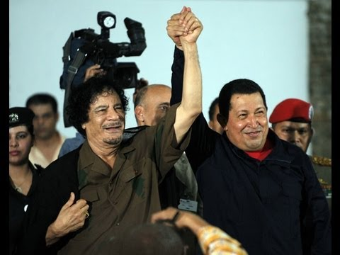 Gaddafi and Chavez: The Love and Pride of the People