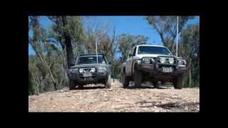 Hilux v Patrol - The Journeymen Challenge