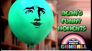 Download Lagu The Amazing World Of Gumball | Alan's Funny Moments Gratis STAFABAND