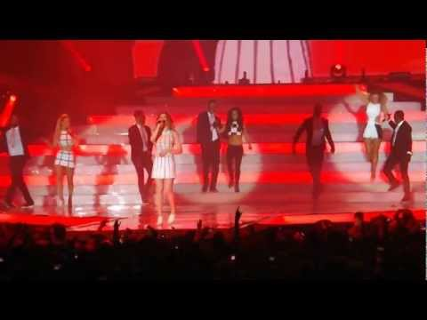 Girls Aloud Ten Tour - Call Me Maybe Odyssey Arena Belfast