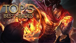 Arena of Valor - Top 5 Best Heroes