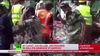 Mecca Stampede: At least 220 killed, hundreds injured at Hajj pilgrimage