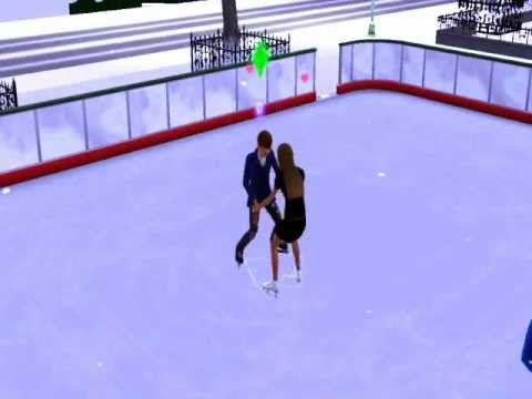 The Sims 3 Seasons: Awesome Ice Skating Tricks