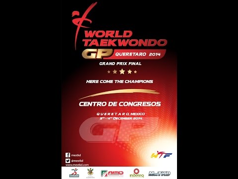 Wtf World Taekwondo Grand Prix 2014 Final Day 2 - Quarter Finals video