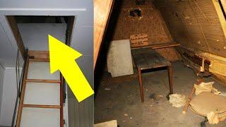 10 ENGSTE Geheime Kamers GEVONDEN in Woningen!