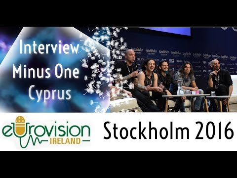 Eurovision Ireland meets Minus One from Cyprus at Eurovision 2016