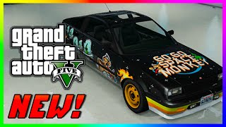 GTA 5 NEW PS4 Rare Cars & Vehicles - Sprunk Edition Buffalo, Go-Go Monkey Blista & MORE! (GTA V)