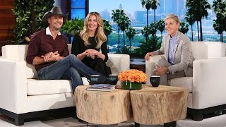 Tim Mcgraw Faith Hill 39 S Exclusive Sit Down