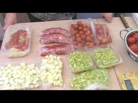 Заморозка овощей на зиму - 7 дач