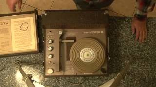 Late 1960's NewComb Classroom Record Player
