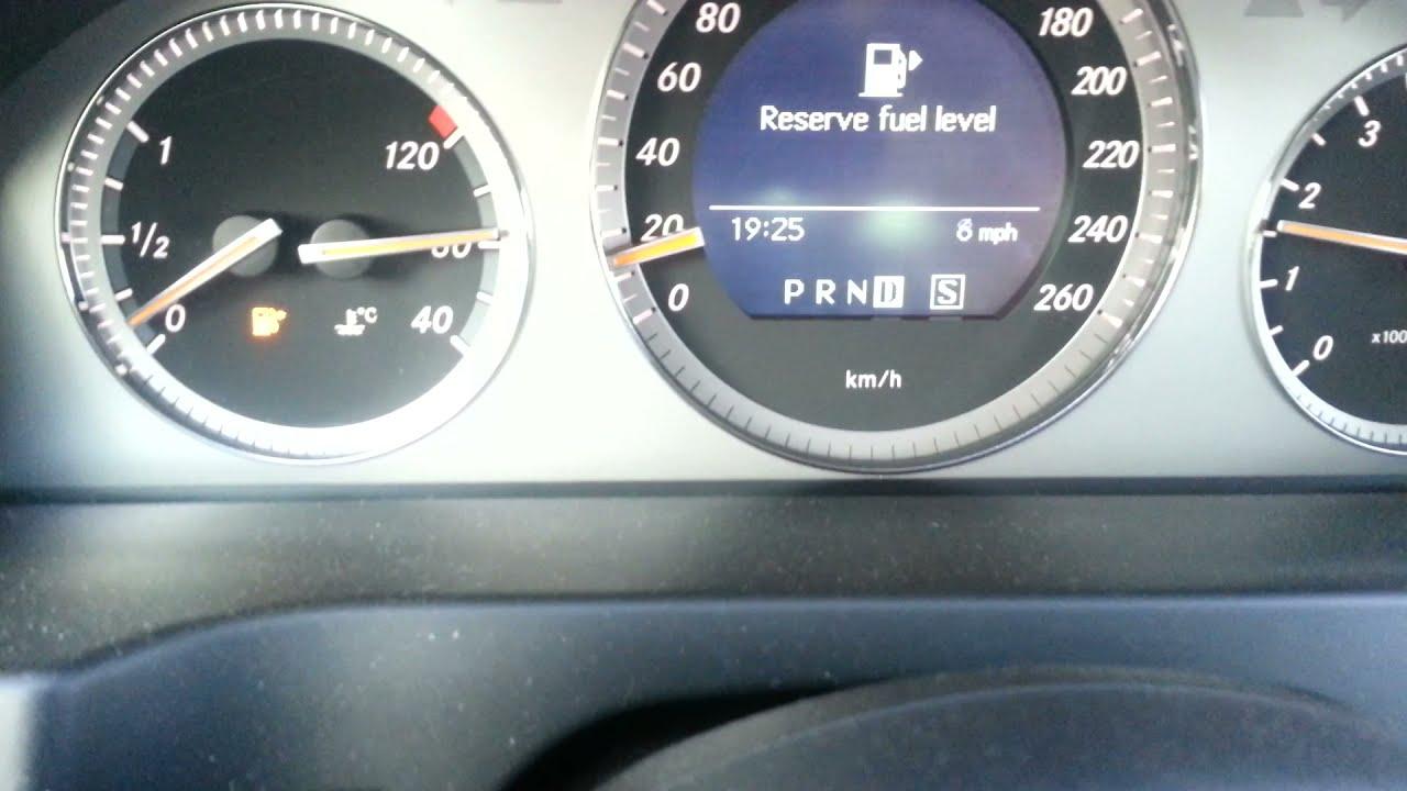 Mercedes Benz C350 W204 Temperature Gauge Youtube