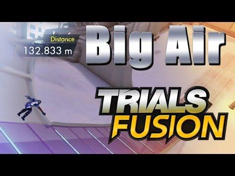Trials Arctic Open Big Air on Big Air Trials Fusion