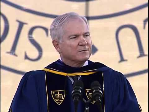 Commencement 2011: Robert Gates Commencement Address