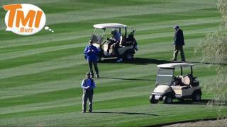 Barack Obama enjoys the perks of being a former POTUS: Secret Service Protection while playing golf