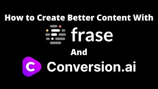 Download lagu Jarvis.ai How to Create Better Content with Frase.io and Conversion.ai