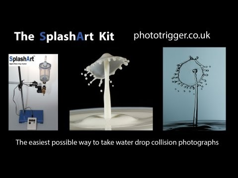 SplashArt Water Drop Photography Kit