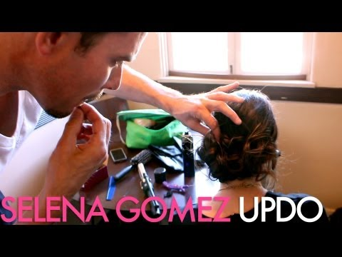 Selena Gomez inspiried Hair Style / with celebrity hair stylist Richard Collins