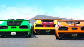 WHO IS THE BEST RACER? (GTA 5 Funny Moments)