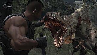 Смотреть прохождение игры динозавры против людей