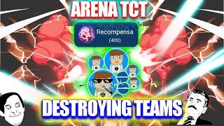 Nebulous - Destruyendo teams❤ | Full Split | Epic & Funny Moments🌝 | Arena TCT😱 | CLAN ∆ιlυмιnaтι∆