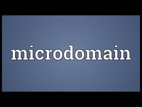 Header of Microdomain