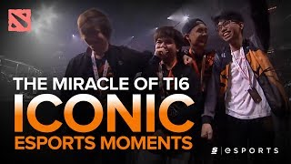 ICONIC Esports Moments: The Miracle of TI6 - TnC vs. OG (Dota 2)