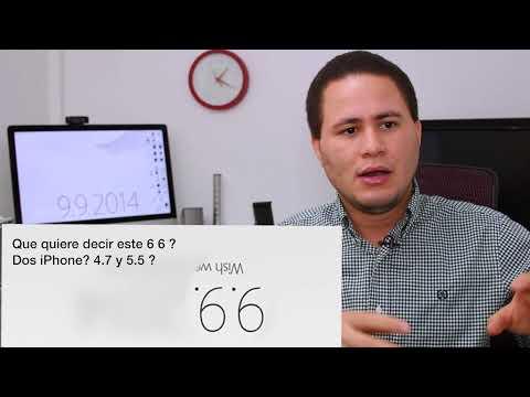 Apple CONFIRMA EVENTO 9 9 2014 (iPhone 6, iWatch, Detalles)