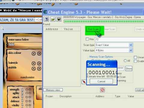 Jak cheatować w S&S 2 [cheat engine]