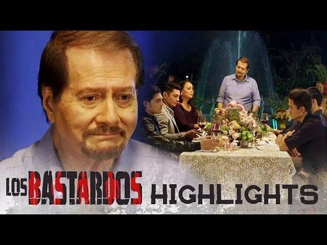 Roman, inimbitahan ang mga anak sa isang salu-salo kasama si Soledad | PHR Presents Los Bastardos