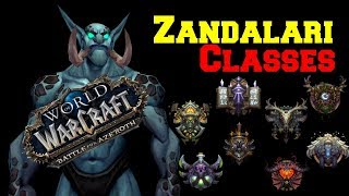 Zandalari Troll Classes leaked | Blizzard News | World of Warcraft Battle for Azeroth | WoW
