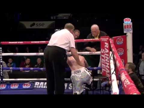 Ahmet Patterson brutal bodyshot KO over John Brennan